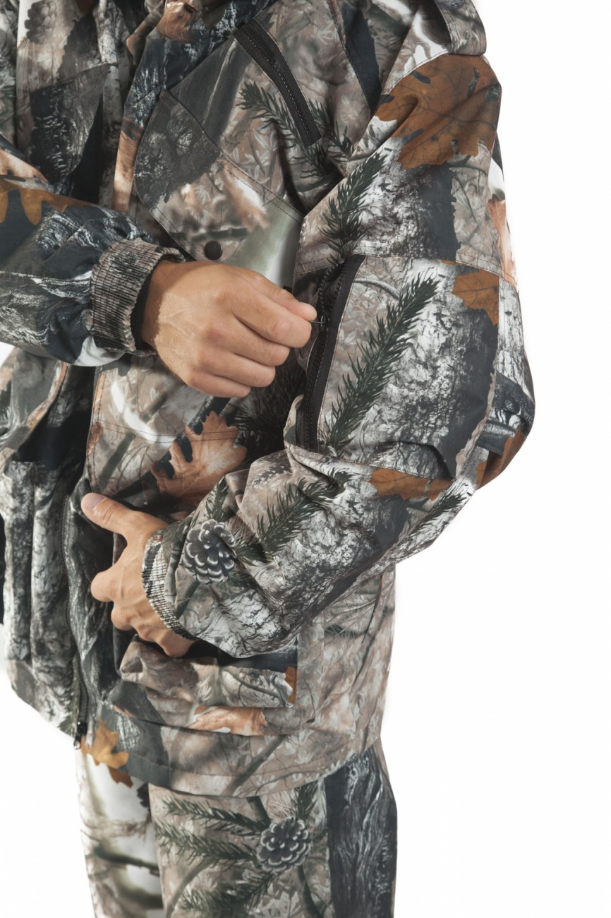 осенний костюм охотника