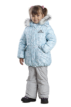 Куртка Звездочка голубая ДЗ 0010