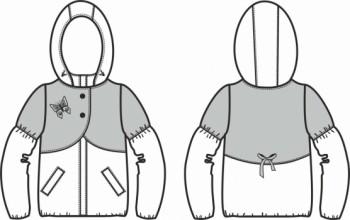 Технический рисунок - Куртка Амелия