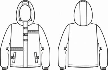 Технический рисунок - Куртка Морская