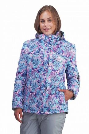 Куртка женская Тефлон Цветы СЗ-1001