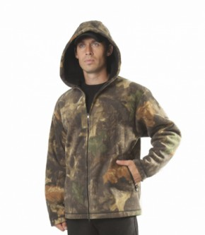 Куртка из виндблока КМФ с капюшоном