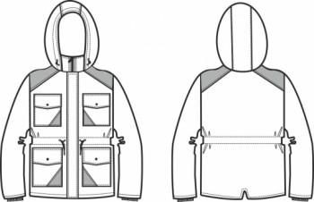 Технический рисунок - Парка Кэжел