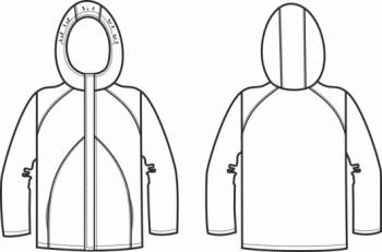 Технический рисунок - Куртка Спорт