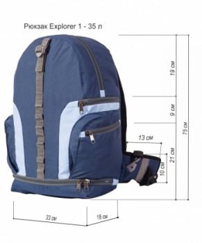 Технический рисунок - ЕXPLORER 1