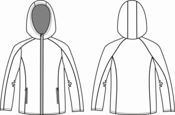 Технический рисунок - ТОЛСТОВКА мужская М 3